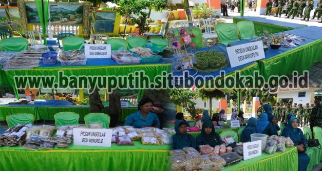 Berbagai macam produk unggulan Desa Wonorejo Kec Banyuputih